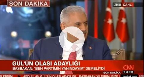 Başbakan Yıldırım'dan, Abdullah Gül'le ilgili sert sözler -