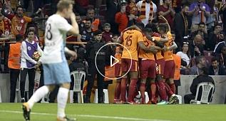 Çok geniş Galatasaray - Trabzonspor maçının özeti?