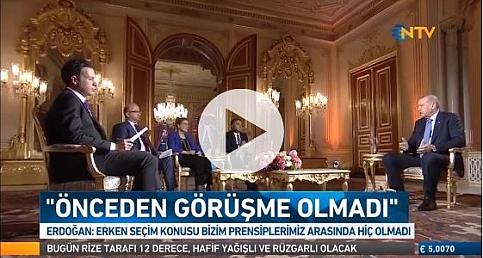 Erdoğan ''Haberim Yoktu'' Canlı yayında açıkladı?