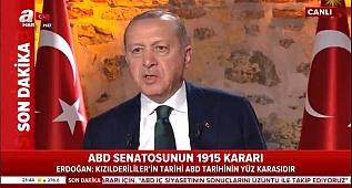 Erdoğan, ABD'ye Meydan okudu !!!