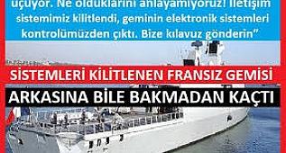 Türkiye, Fransız Gemilerini KİLOMETRELERCE KOVALADI!