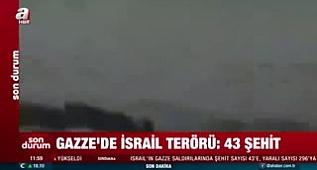 Gazze'de şehit sayısı 43'e, yaralı sayısı 296'ya yükseldi!